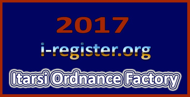 Ordnance Factory Itarsi Recruitment 2017