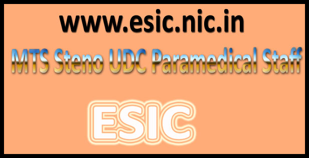 ESIC answer key 2016