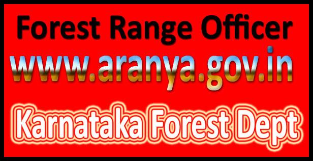 Karnataka forest department recruitment 2016