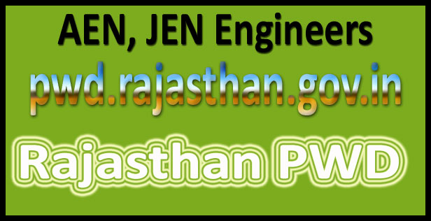 Rajasthan PWD recruitment 2016