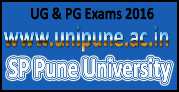 SP Pune university time table 2016