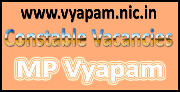 MP Vyapam Police Constable Study Material 2016