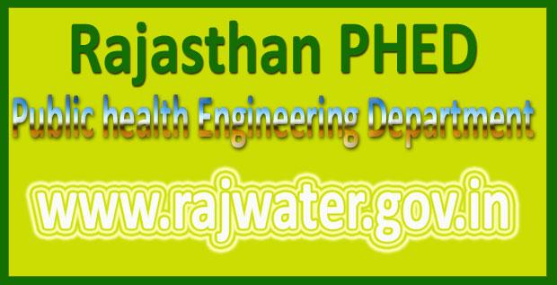 Rajasthan PHED Syllabus 2016