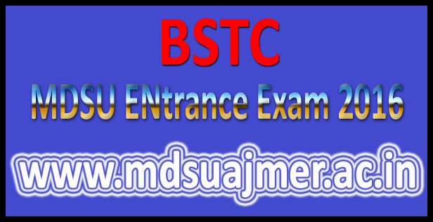 BSTC Pre Answer Key 2016