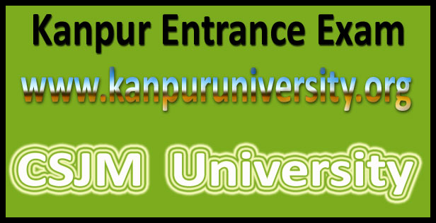 CSJM entrance exam admit card 2016