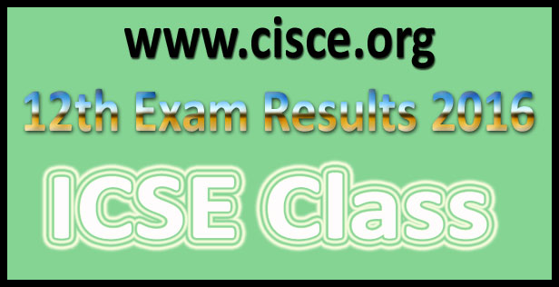 ISC Board 12th Result 2017