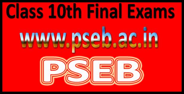 PSEB Class 10 Result 2017