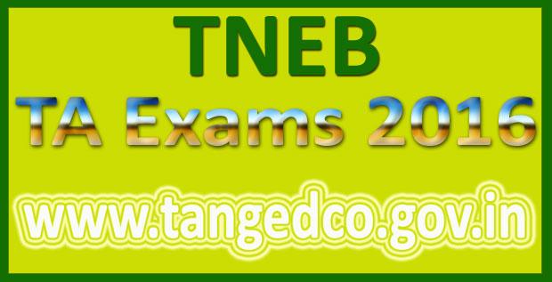 TNEB TA Answer Key