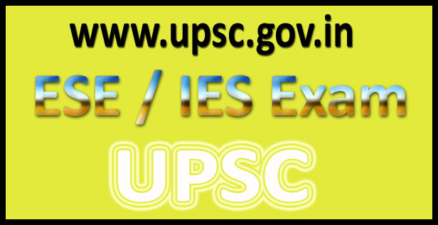 UPSC ESE Answer Key 2016