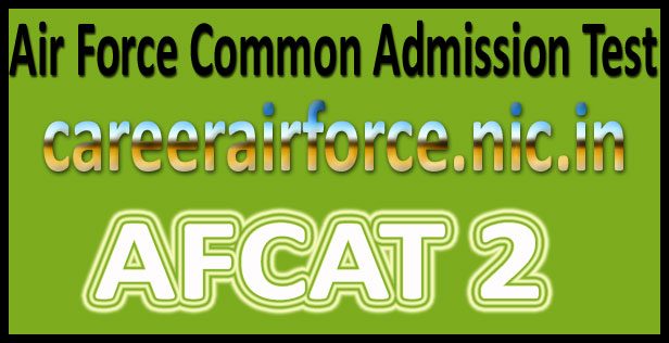 AFCAT Model Question Paper 2016