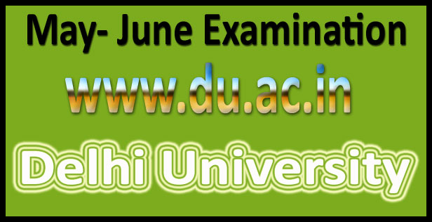 DU Nov Dec Result 2016