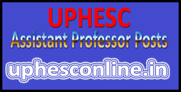 UP assistant professor recruitment 2016