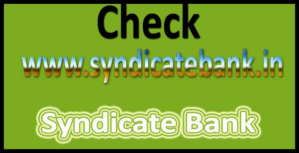 Syndicate Bank PO Admit Card 2017