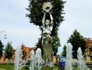 ПОСТАВЫ — сквер на центральной площади города (фонтан)