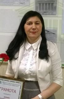 Хотько Ольга Александровна — «А в Поставах я набираюсь кислорода»
