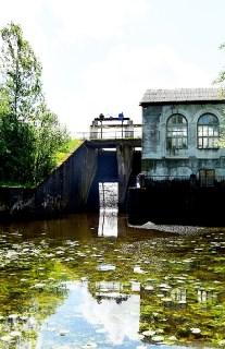 Вадзяны млын і міні-ГЭС у Алешына
