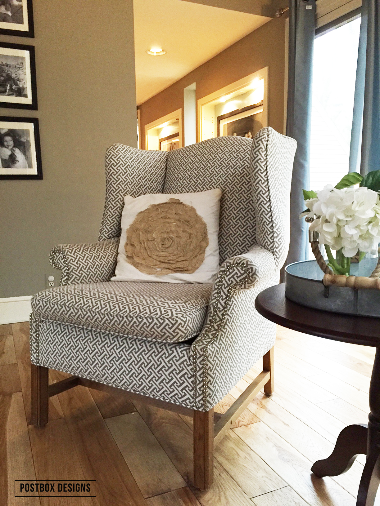 Wingback Chair Make Over Why An Upholsterer Should Be