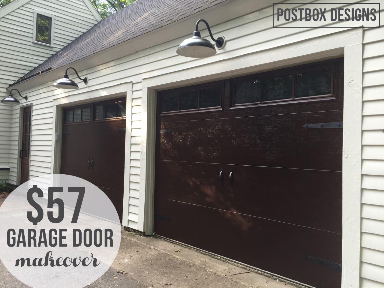My 57 Garage Door Makeover How To Knock Off Expensive