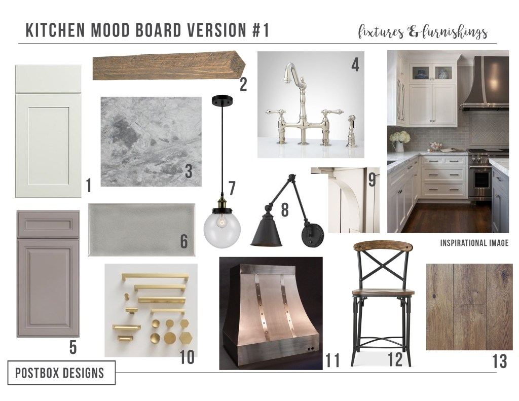 Farmhouse Kitchen: 4 Mood Boards to Create Your Dream ...