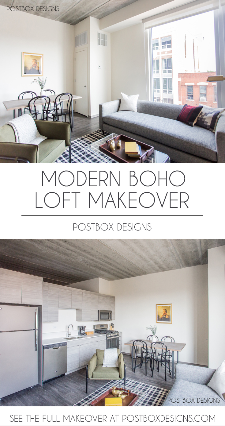 Modern-Boho-Living-Room-Ideas-Living-Room-Makeover-via-E ... on Modern Boho Room  id=66712