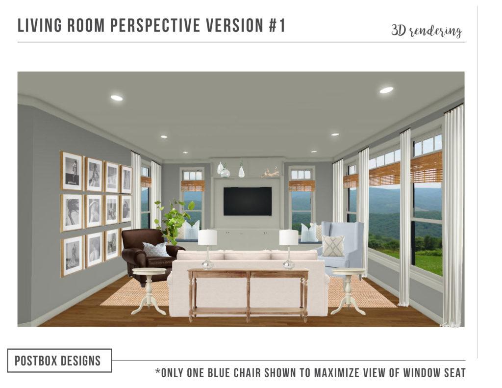 Stupendous Modern Coastal Living Room Makeover Postbox Designs E Design Home Interior And Landscaping Mentranervesignezvosmurscom