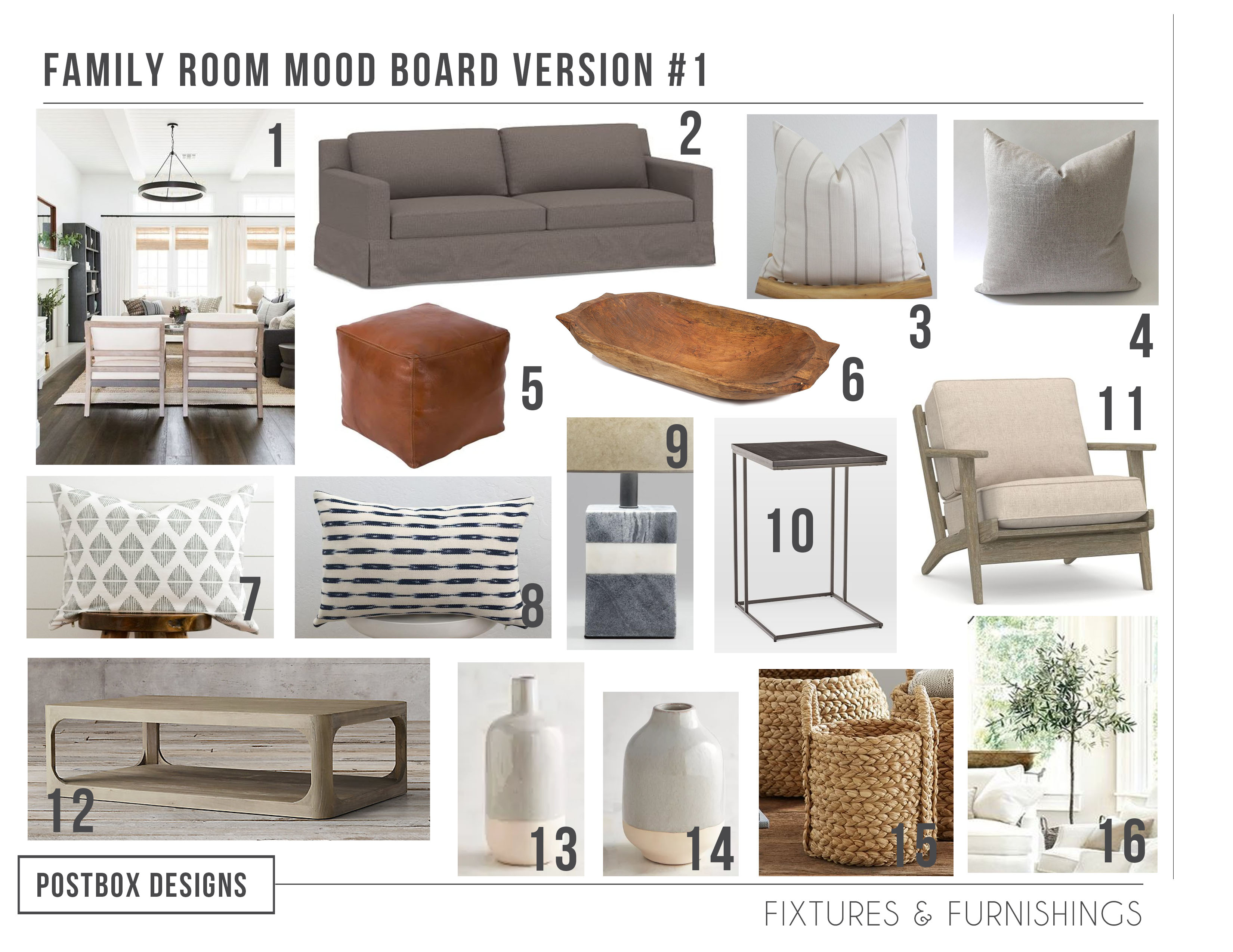 Check Out This Traditional + Modern Living Room Design ...