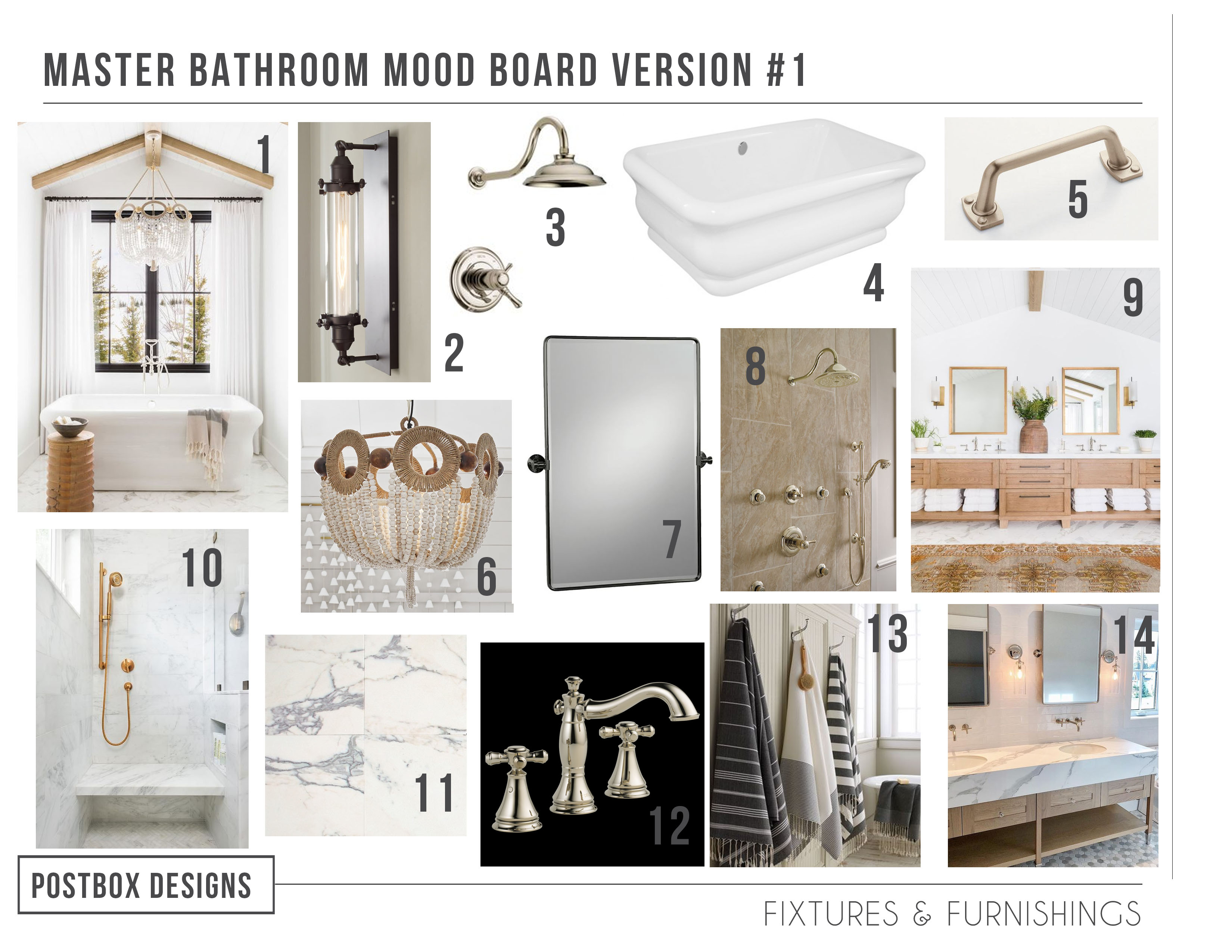Designing A Bathroom 2 000 Miles Away A Rustic Elegant Bath Via E Design Postbox Designs