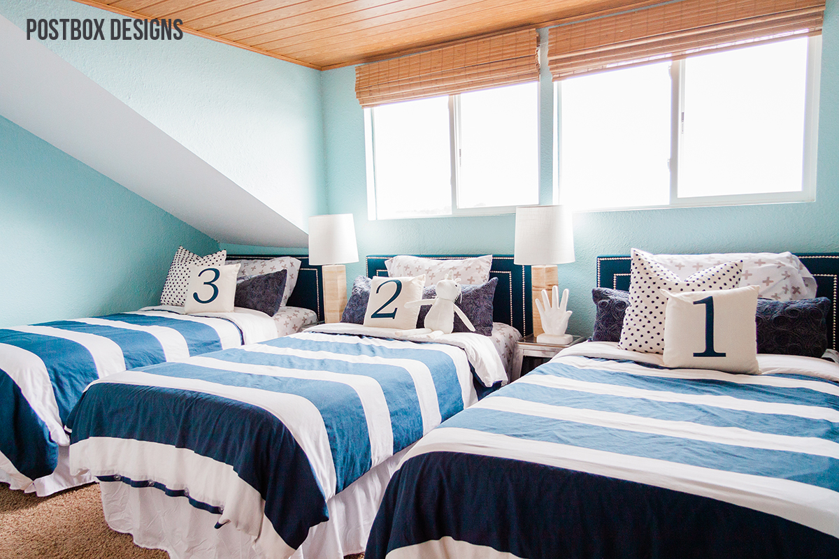 My Airbnb Lakehouse Makeover Week 5 Shared Kid Bedroom