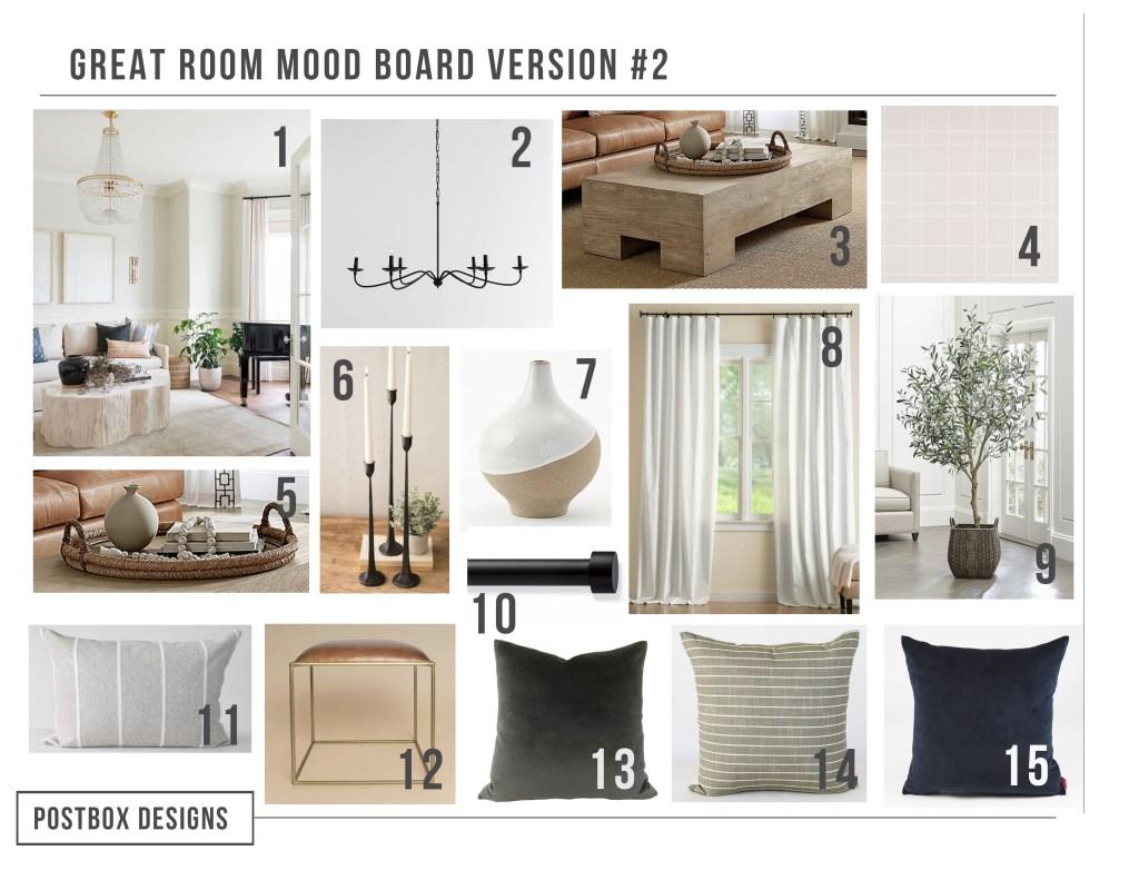 Modern Neutral Living Room Decor