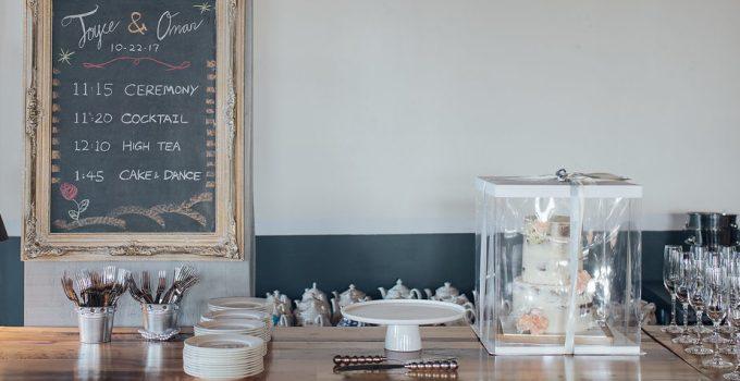 Baking my own wedding cake
