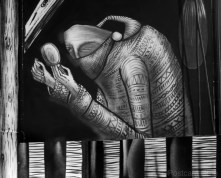 6. Market Traders by Phlegm. Castle House, Sheffield - September 2014