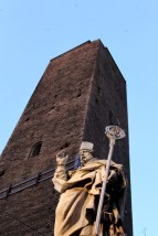 One of the 2 towers