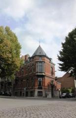 A Gothic house in Tournai,Belgium