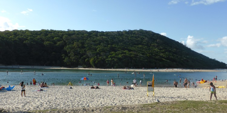 Tallabudgera beach