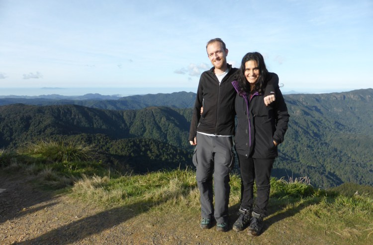 Top of Mt Te Aroha