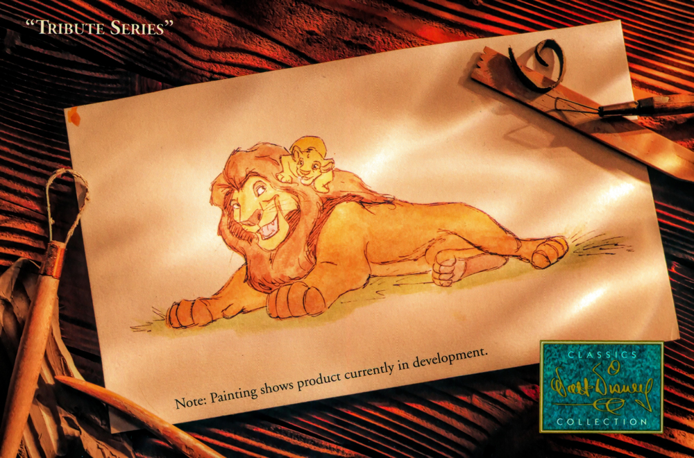 The Lion King Postcard