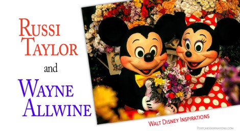 Walt Disney Inspirations: Russi Taylor and Wayne Allwine