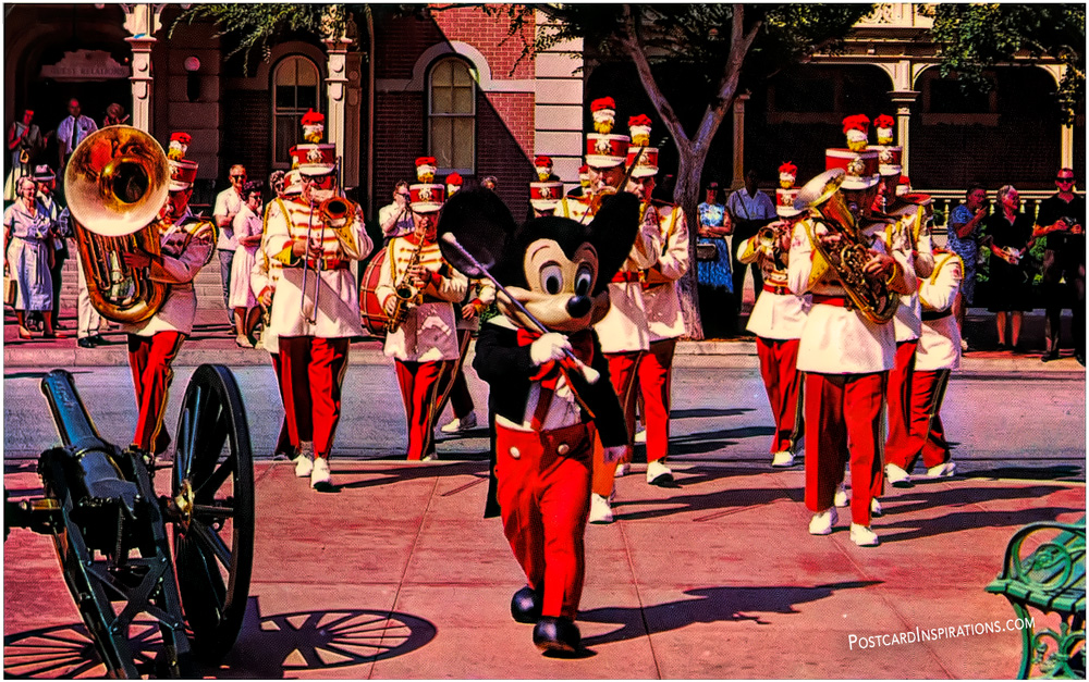 Strike up the Band Walt Disney World (Postcard)