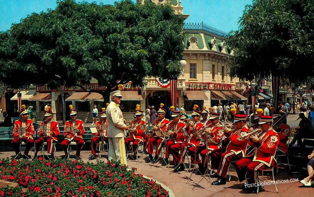 Disneyland Band (Postcard)