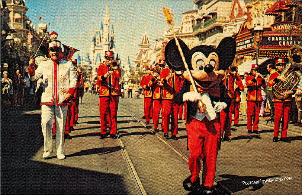 Main Street Parade (Postcard)