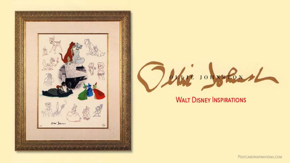 Walt Disney Inspirations: Ollie Johnston