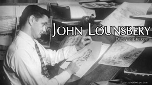 John Lounsbery: Disney Inspirations