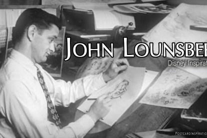 John Lounsbery: Disney Inspirations
