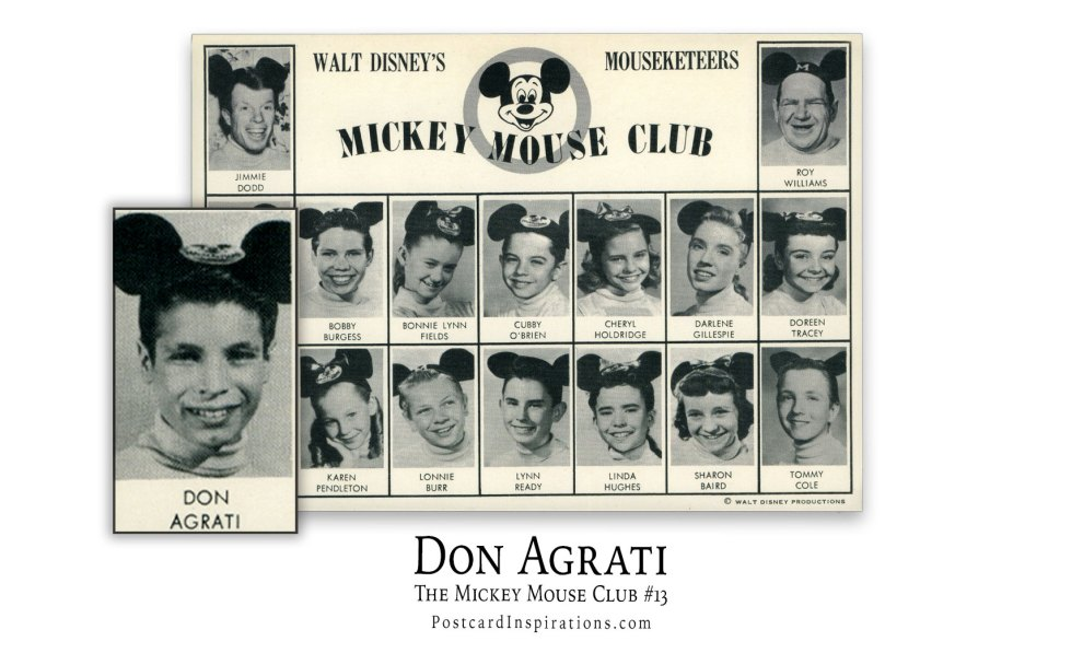 Don Agrati: The Mickey Mouse Club #13