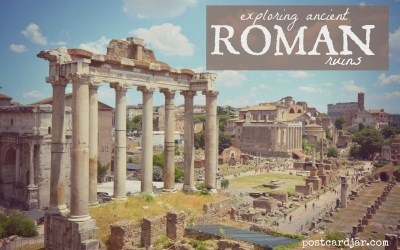 Exploring Ancient Roman Ruins