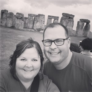 Our visit to Stonehenge in England earlier this summer.