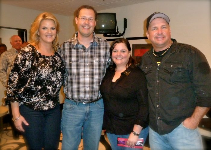 Down to earth, personable, and boy can they sing! Our once in a lifetime experience meeting county music artists, Garth Brooks and Trisha Yearwood.