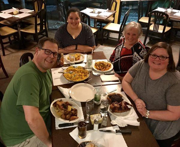 We really enjoyed the Purerto Rican and Cuban food at Metropol in San Juan.