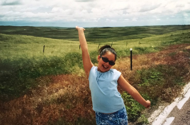 This picture was taken on our very first Nebraska road trip somewhere in the Sandhills. It was the first time either one of us had been there.