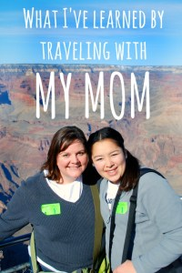 Postcard Jar: Lessons I learned traveling with my mom